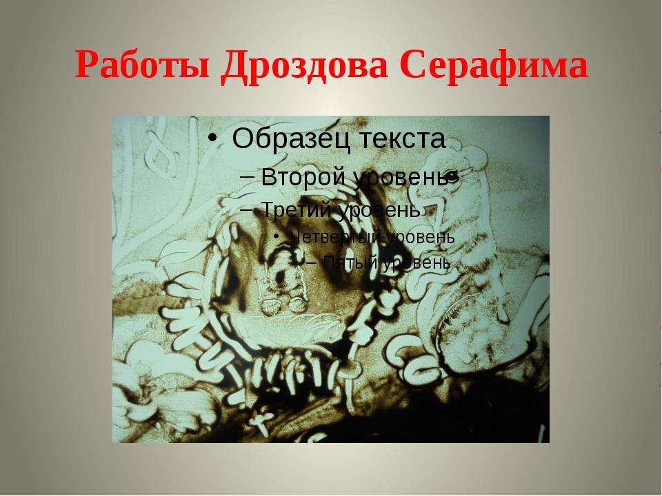 Работы Дроздова Серафима