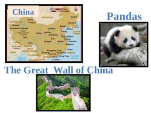 Pandas China The Great Wall of China