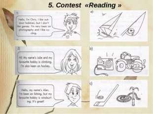 5. Contest «Reading »