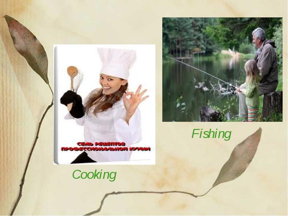 Cooking Fishing