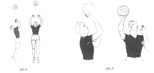 Передача в прыжке и одной рукой в волейболе