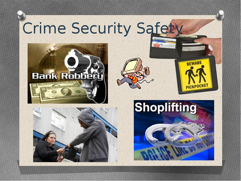 Crime Security Safety