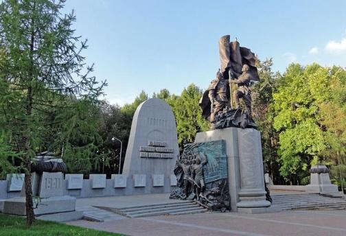 Город герой Москва. Памятник «В борьбе против фашизма мы были вместе», на Поклонной гора.