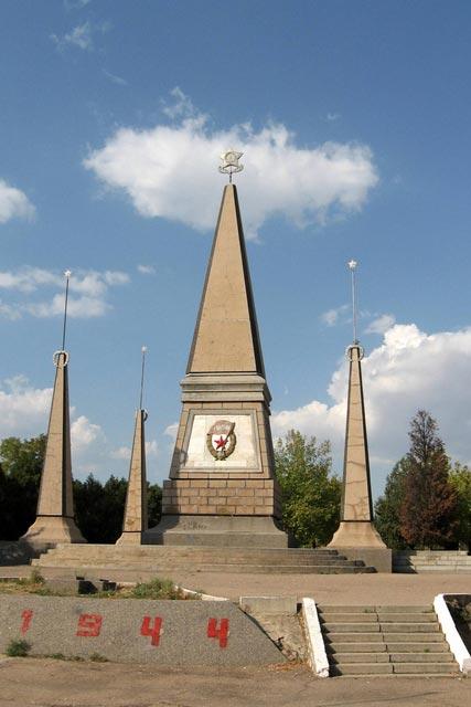 Город герой Севастополь. Мемориал 2-й Гвардейской армии на Северной стороне