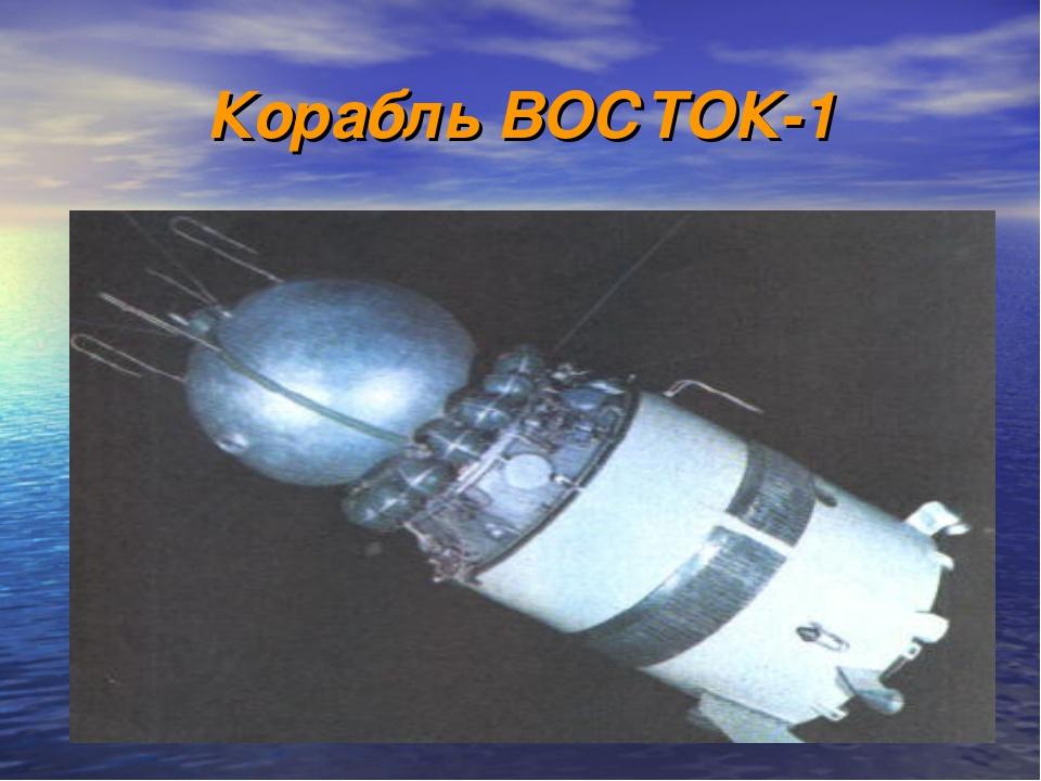 Корабль ВОСТОК-1