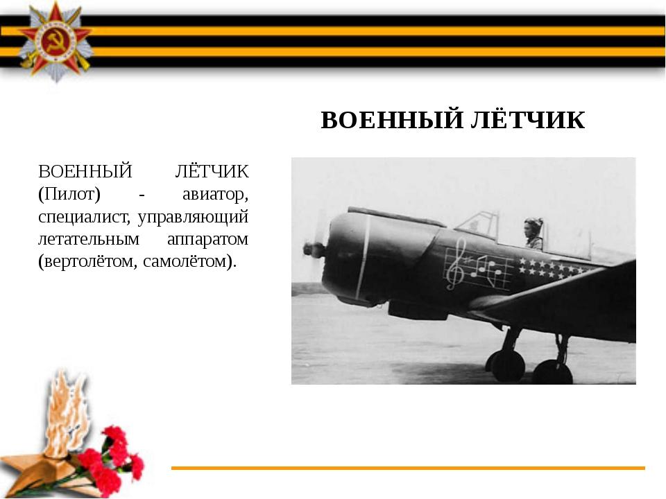 Презентация о летчиках