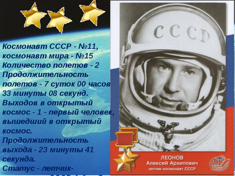 Космонавт СССР - №11, космонавт мира - №15 Количество полетов - 2 Продолжите...