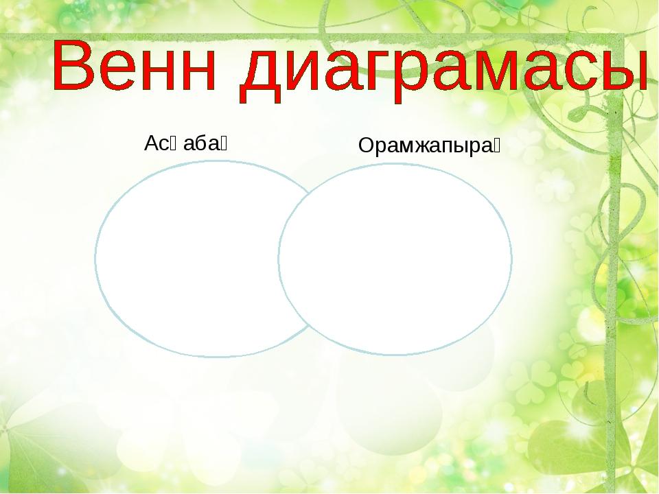 Асқабақ Орамжапырақ