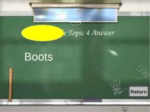 4th Grade Topic 4 Answer Boots Return