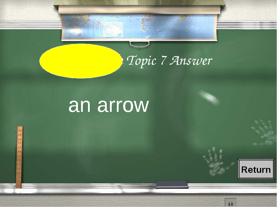 2nd Grade Topic 7 Answer an arrow Return