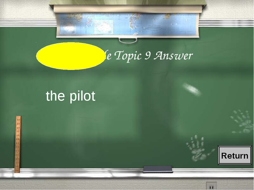 1st Grade Topic 9 Answer the pilot Return