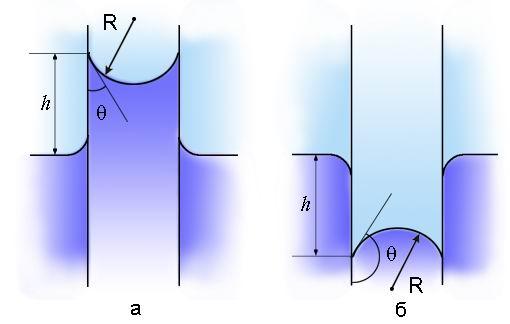 0010-009-Kapilljarnoe-podnjatie-zhidkosti-smachivajuschej-stenki-voda-v-stekljannom.jpg