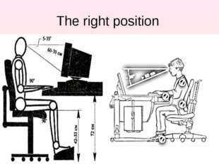 The right position