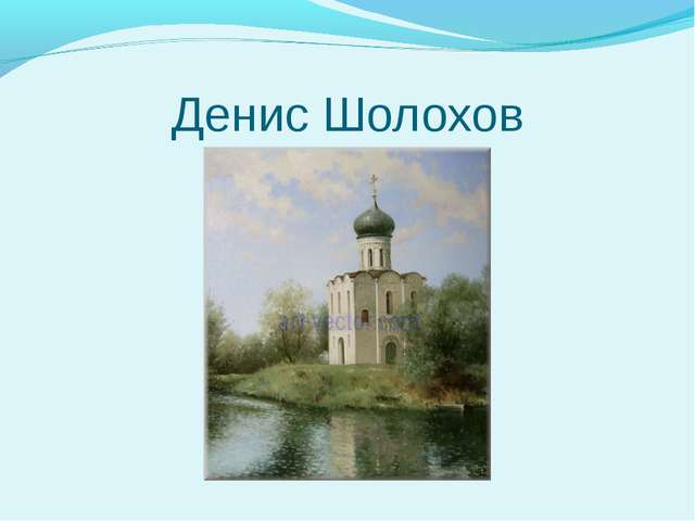 Денис Шолохов