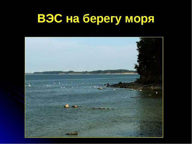 ВЭС на берегу моря