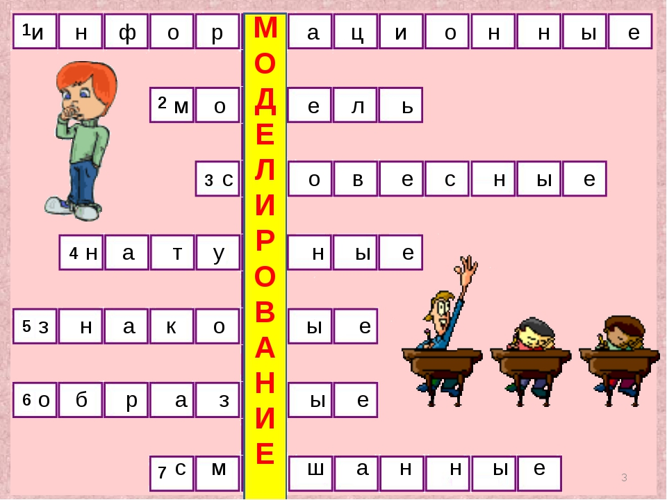 1 2 3 4 5 6 7 8 * и н ф о р м а ц и о н н ы е м о д е л ь с л о в е с н ы е н...