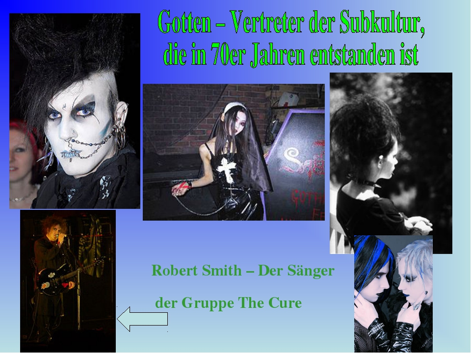 Robert Smith – Der Sänger der Gruppe The Cure