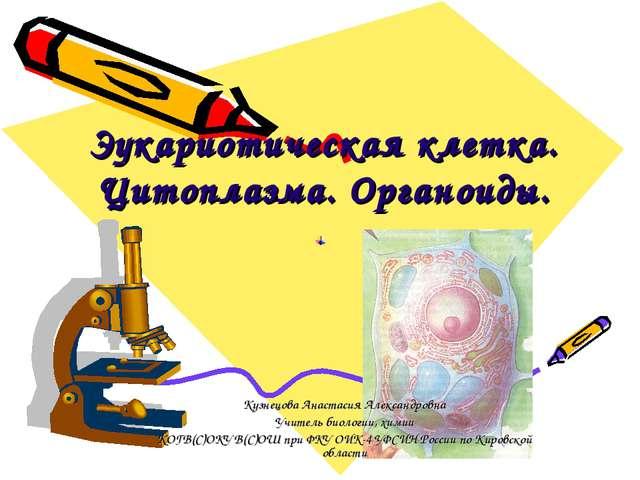 Эукариотическая клетка. Цитоплазма. Органоиды. Кузнецова Анастасия Александро...