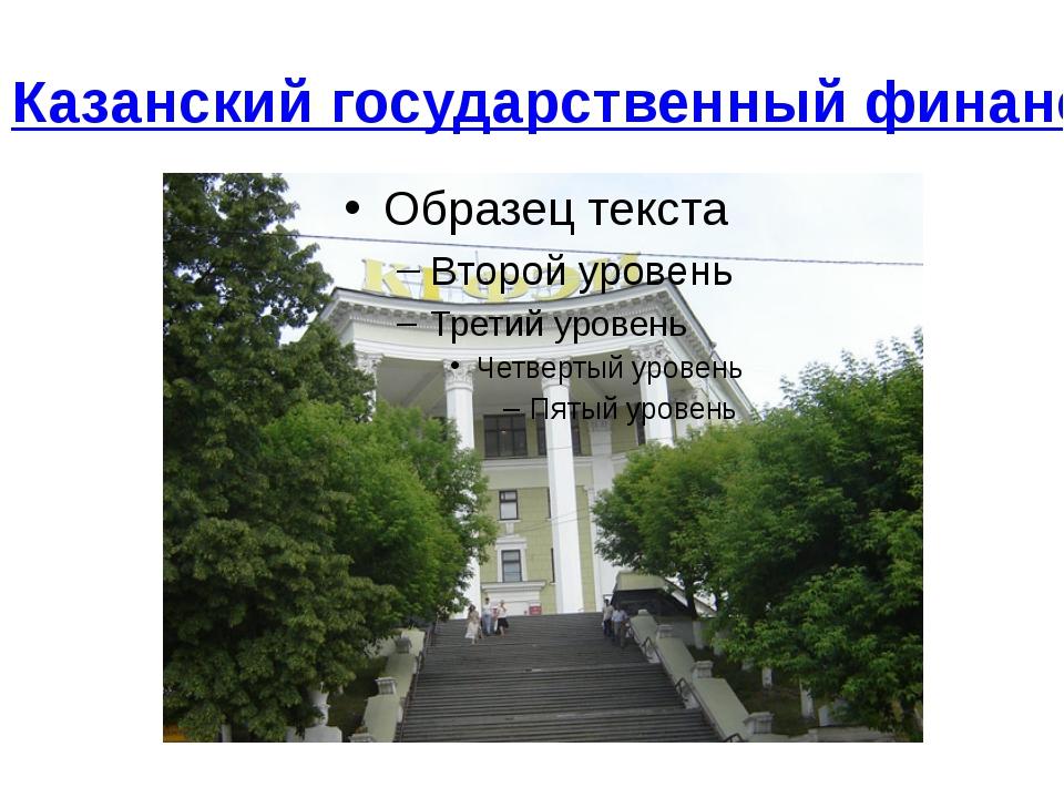 Казанский государственный финансово-экономический институт