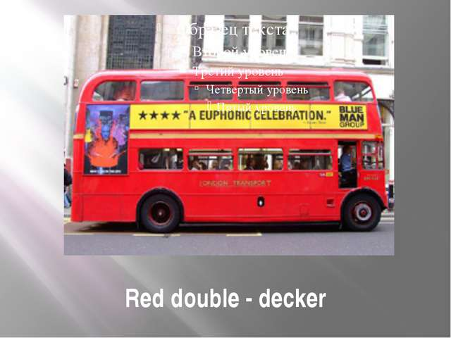 Red double - decker