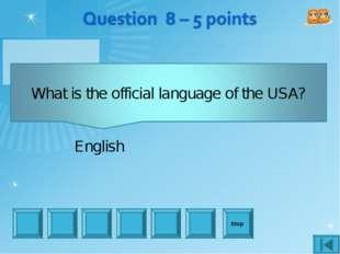Stop English