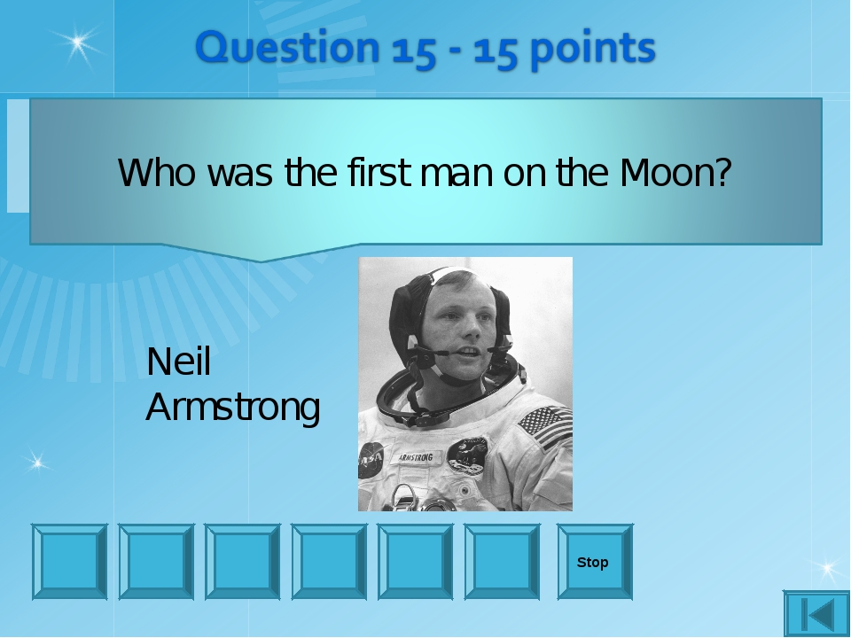 Stop Neil Armstrong