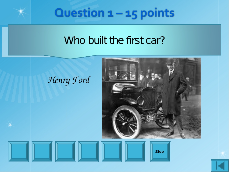 Stop Henry Ford