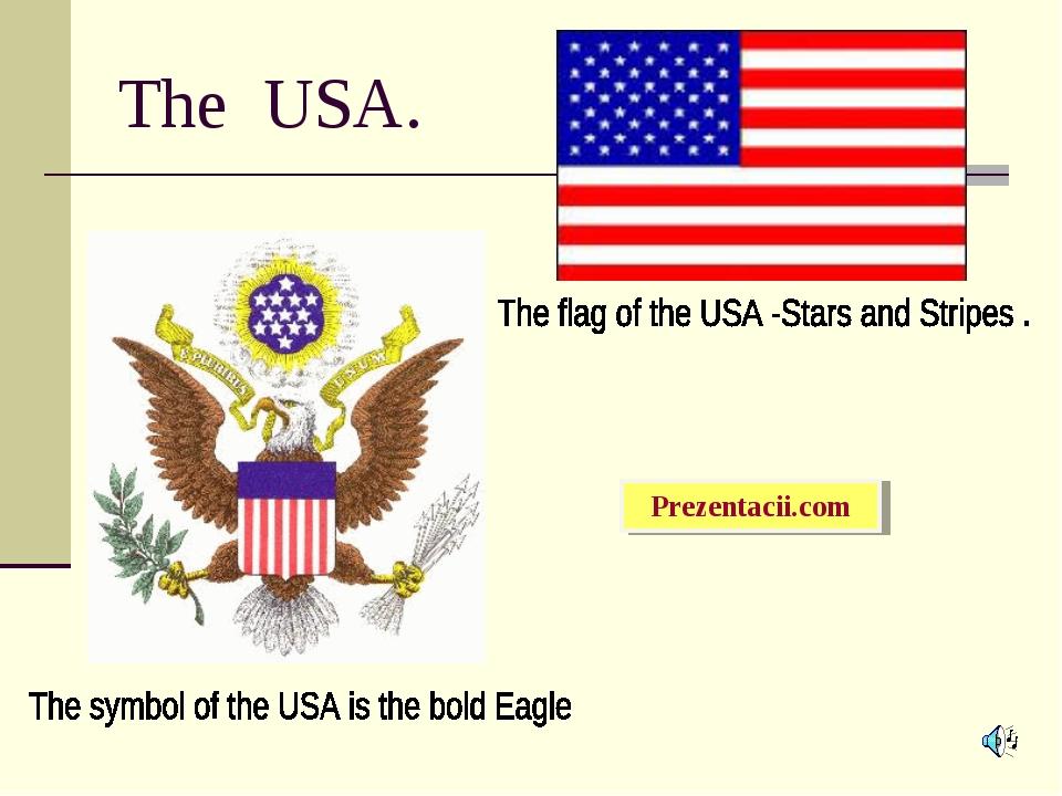 The USA. Prezentacii.com