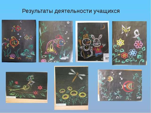 Результаты деятельности учащихся