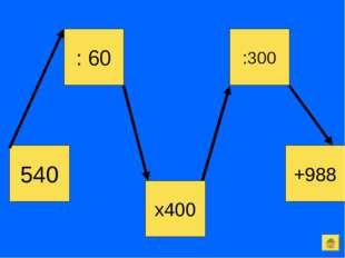 540 :300 : 60 +988 х400