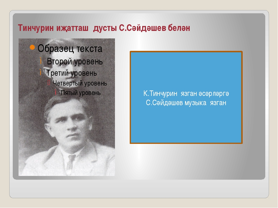 Тинчурин иҗатташ дусты С.Сәйдәшев белән К.Тинчурин язган әсәрләргә С.Сәйдәшев...