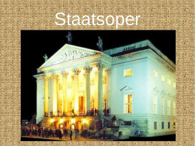 Staatsoper