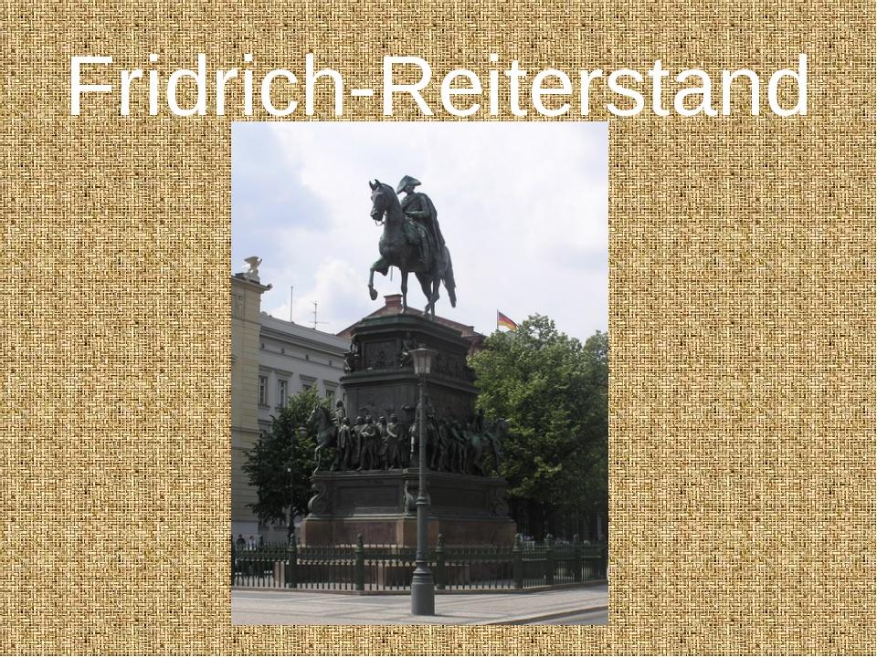 Fridrich-Reiterstand