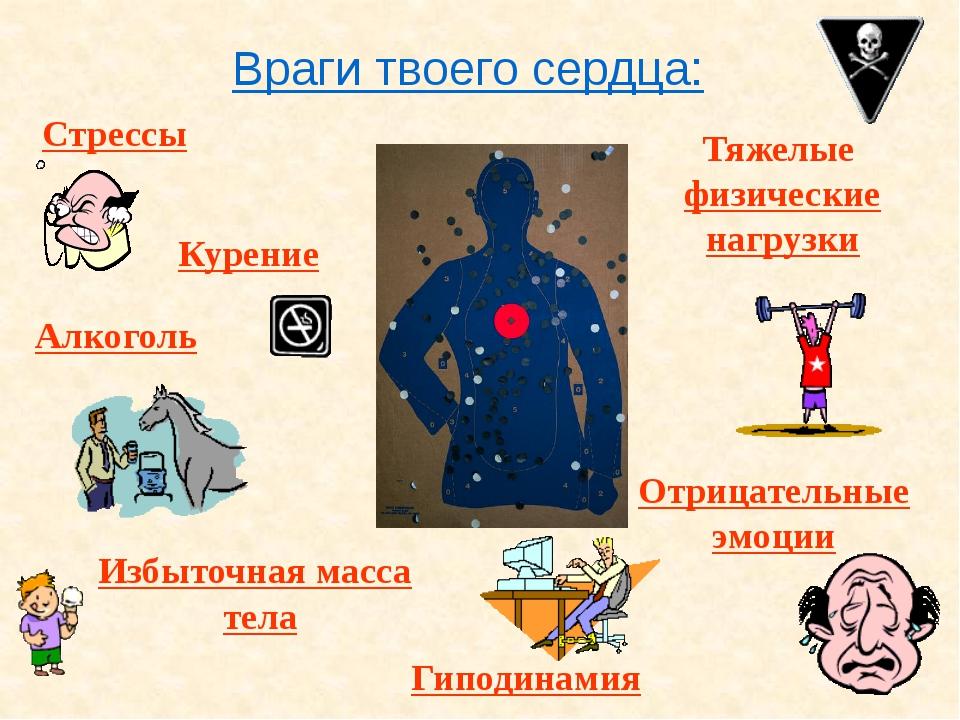 Друзья твоего сердца: Занятия физкультурой и спортом Правильный режим дня Зак...