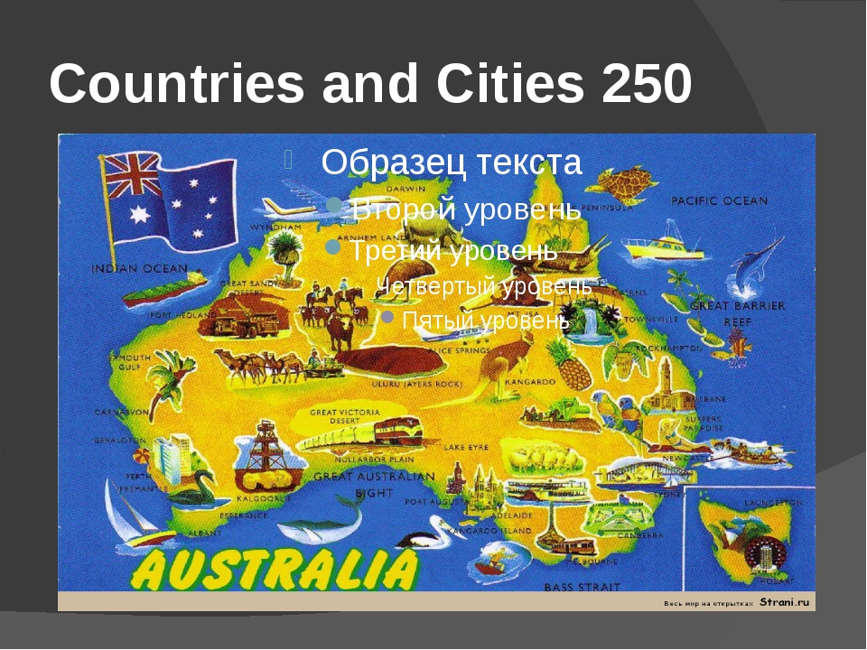 Countries and Cities 250
