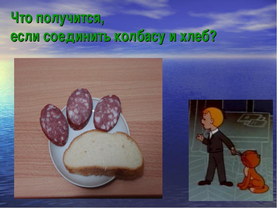 Что получится, если соединить колбасу и хлеб?