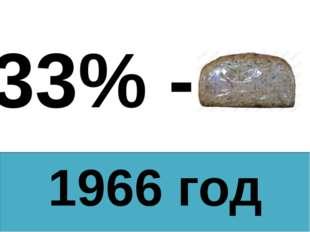 1966 год 33% -