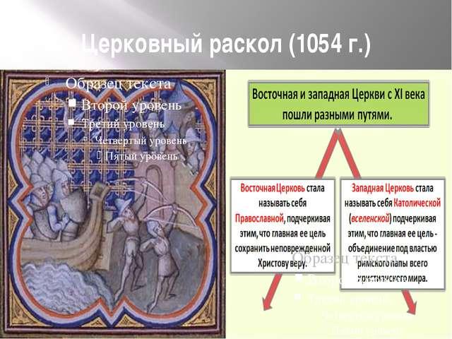 Церковный раскол (1054 г.)