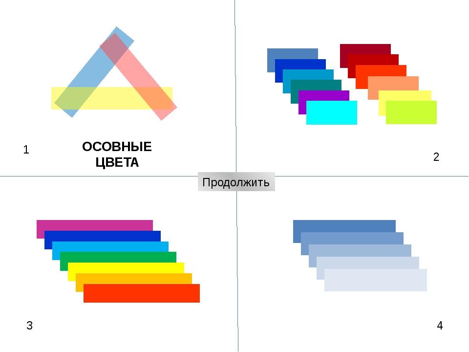 Что можно рассказать о цвете по этим схемам? 1 2 3 4 Контрастные цвета - Каки...