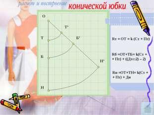 О Т Б Н Т' Б' Н' Rт = ОТ = k (Ст + Пт) Rб =ОТ+ТБ= k(Ст + + Пт) + ((Дтс:2) – 2