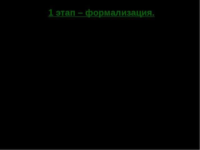 1 этап – формализация. Выражение для функции прибыли имеет вид: П(Q) = R(Q) –...