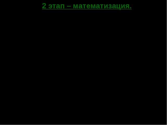 2 этап – математизация. П/(Q)= 3,5 – 0,5Q – 3Q-1/2, где Q >0. П/(Q)=0, 3,5 –...