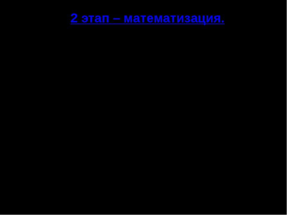 2 этап – математизация. П/(Q) = -4Q+52 П/(Q)=0 при Q=13, 13 [7;19]. П(7)=166,...