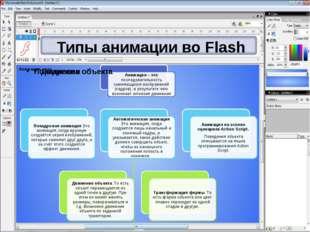 Типы анимации во Flash