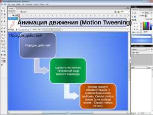 Анимация движения (Моtion Tweening)