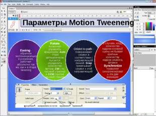 Параметры Motion Tweeneng