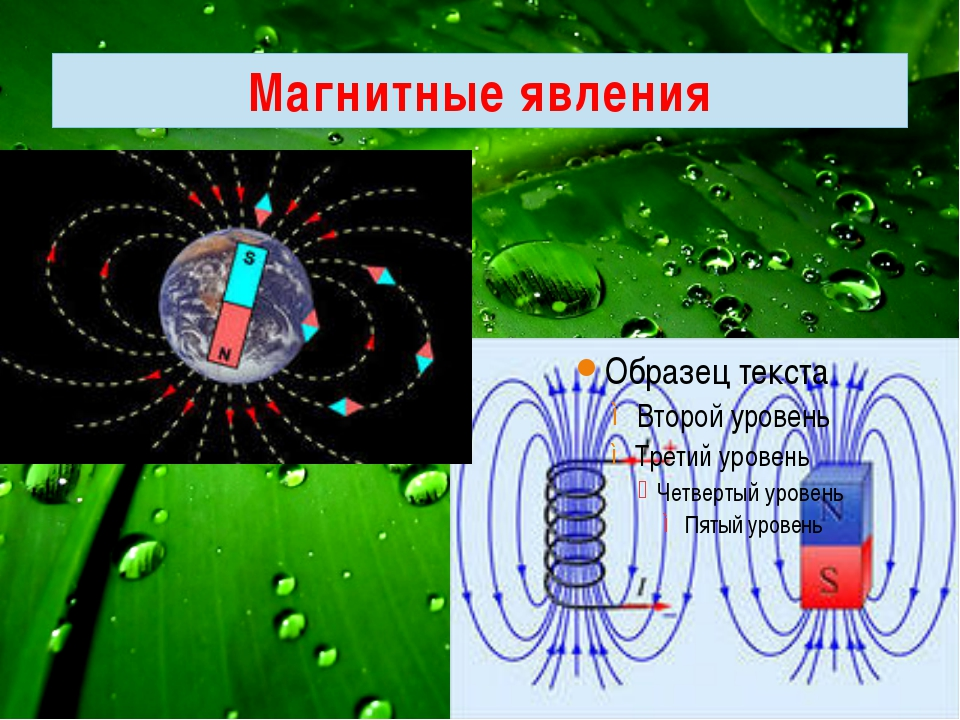 картинки физического явления магнитного пароме
