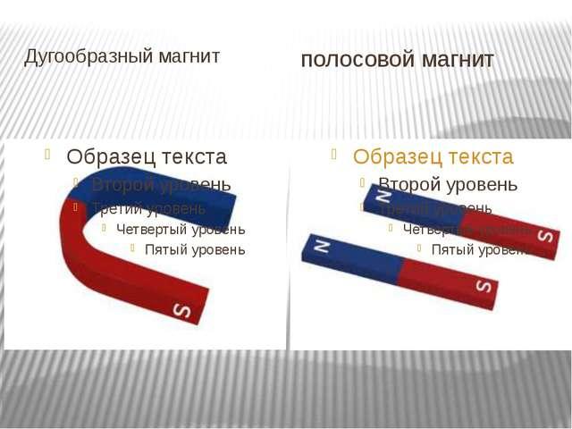 Дугообразный магнит полосовой магнит