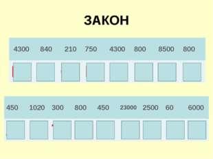 ЗАКОН 430084021075043008008500800 РАСПРЕДЕ 4501020300800450