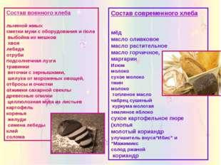 Состав современного хлеба мёд масло оливковое масло растительное масло горчич